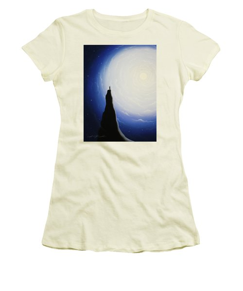 Somewhere Out In Space Women's T-Shirt (Athletic Fit)