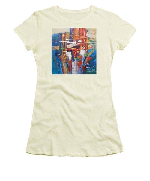 Outburst Women's T-Shirt (Athletic Fit)