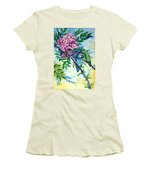 Pacific Parrotlets Women's T-Shirt (Athletic Fit)
