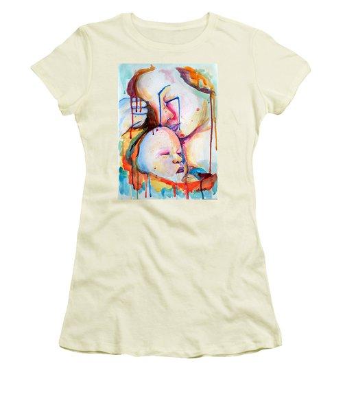 Painful Joy Women's T-Shirt (Junior Cut) by Janet Garcia