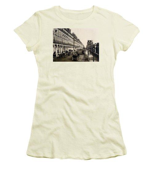 Paris 1900 Rue De Rivoli Women's T-Shirt (Junior Cut) by Ira Shander