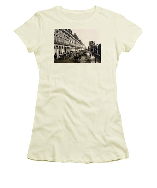 Paris 1900 Rue De Rivoli Women's T-Shirt (Athletic Fit)
