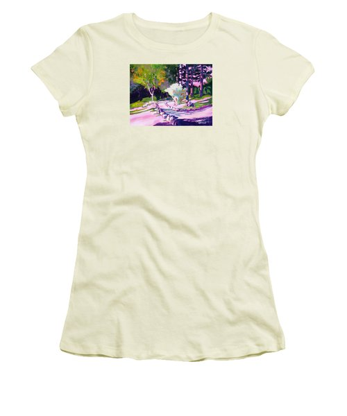 Park Trails 2           Women's T-Shirt (Athletic Fit)