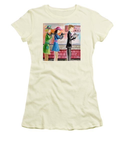 Passing The Time Women's T-Shirt (Athletic Fit)