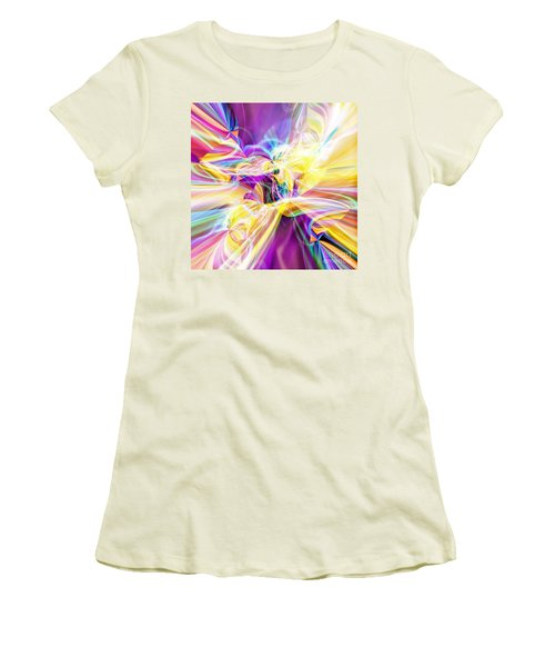 Women's T-Shirt (Junior Cut) featuring the digital art Peace by Margie Chapman