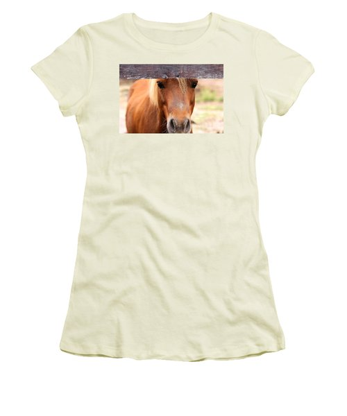 Peaking Pony Women's T-Shirt (Athletic Fit)