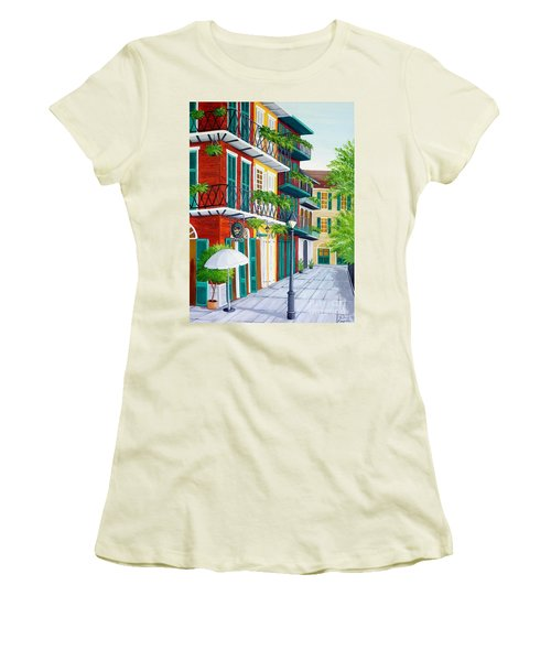 Pirates Alley Women's T-Shirt (Athletic Fit)