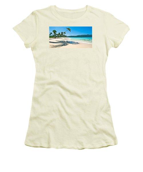 Playa Rincon Women's T-Shirt (Athletic Fit)