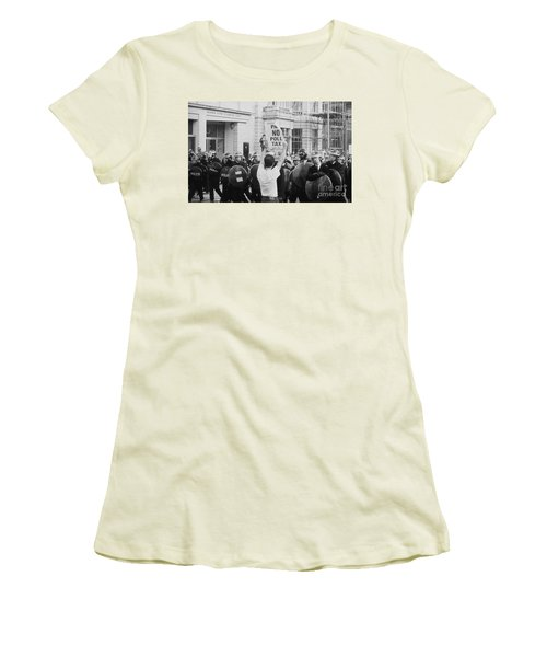 Poll Tax Riots London Women's T-Shirt (Athletic Fit)