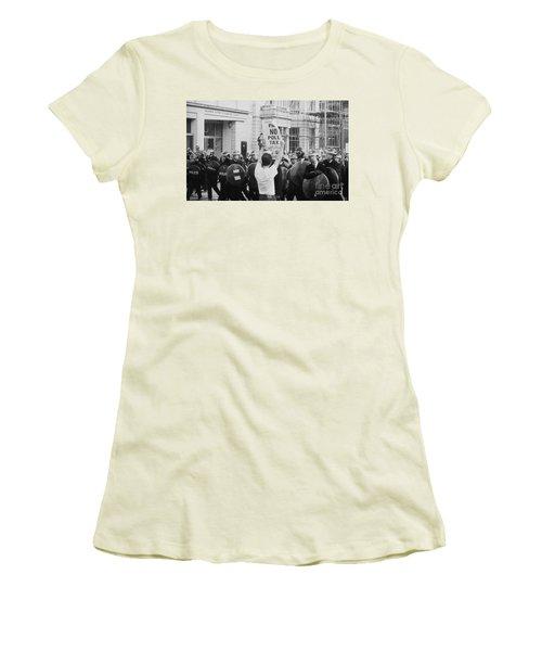 Poll Tax Riots London Women's T-Shirt (Athletic Fit)