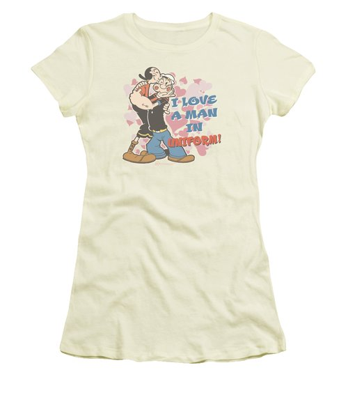 Popeye - Sailor Love Women's T-Shirt (Athletic Fit)