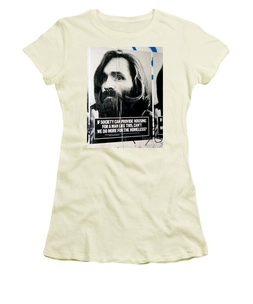 Poster Boy Charlie Women's T-Shirt (Athletic Fit)