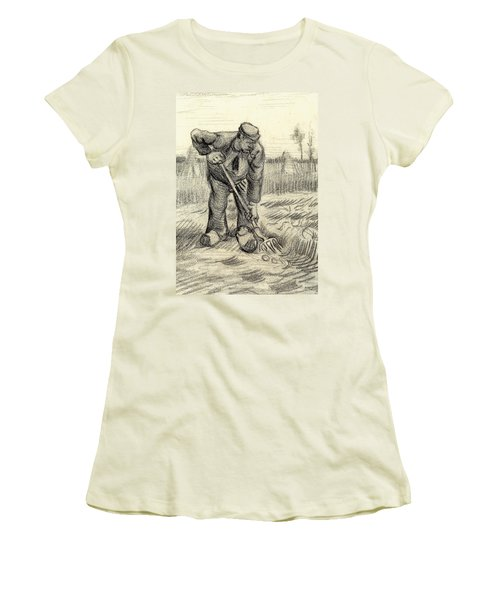 Potato Gatherer Women's T-Shirt (Athletic Fit)