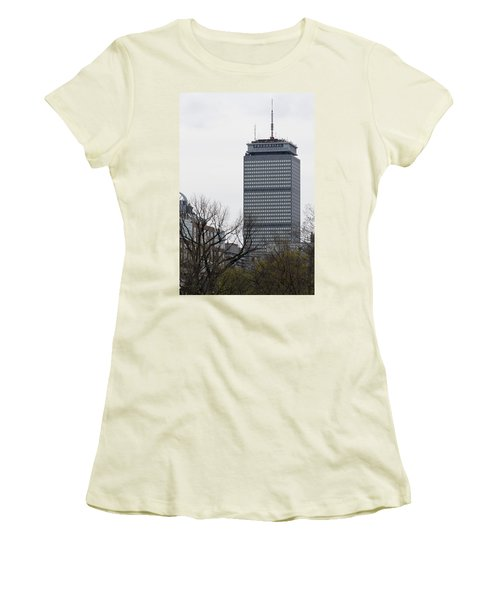 Prudential Tower Women's T-Shirt (Athletic Fit)