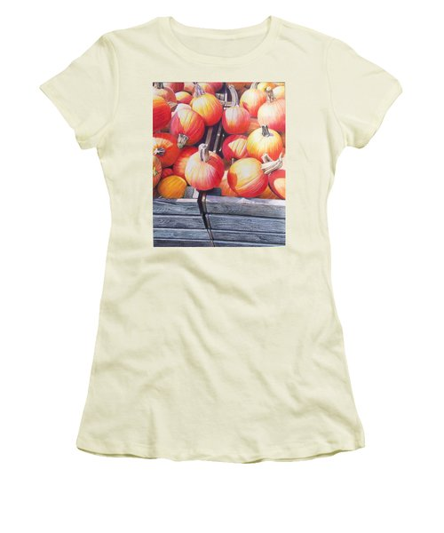 Pumpkins Women's T-Shirt (Athletic Fit)