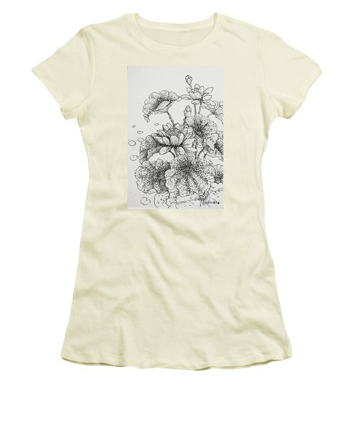 Purity And Beauty Women's T-Shirt (Athletic Fit)