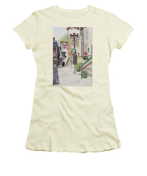 Quebec City Women's T-Shirt (Junior Cut)