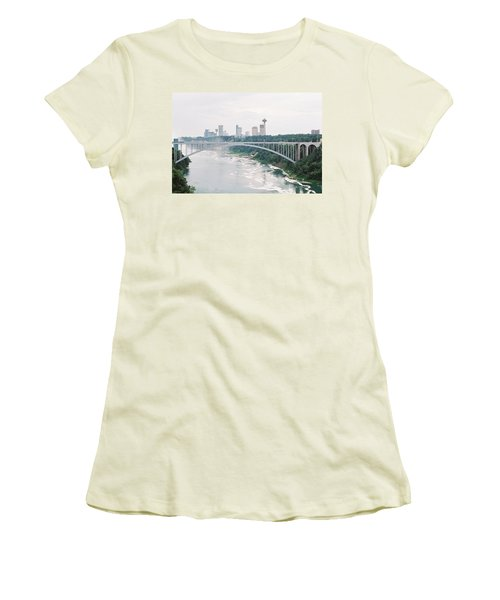 Rainbow Bridge Women's T-Shirt (Athletic Fit)