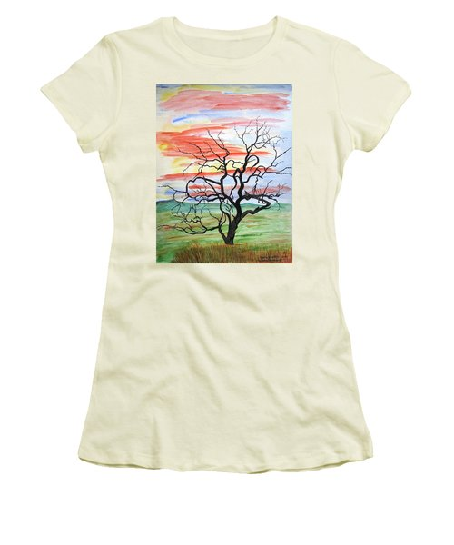 Rainbow Mesquite Women's T-Shirt (Athletic Fit)