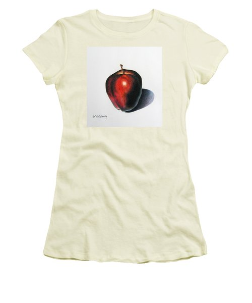 Red Delicious Apple Women's T-Shirt (Athletic Fit)