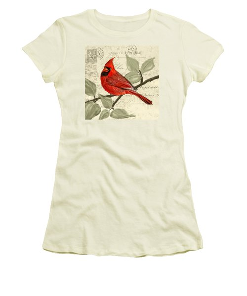 Red Melody Women's T-Shirt (Athletic Fit)