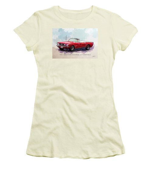 Red Riding Hood Women's T-Shirt (Athletic Fit)