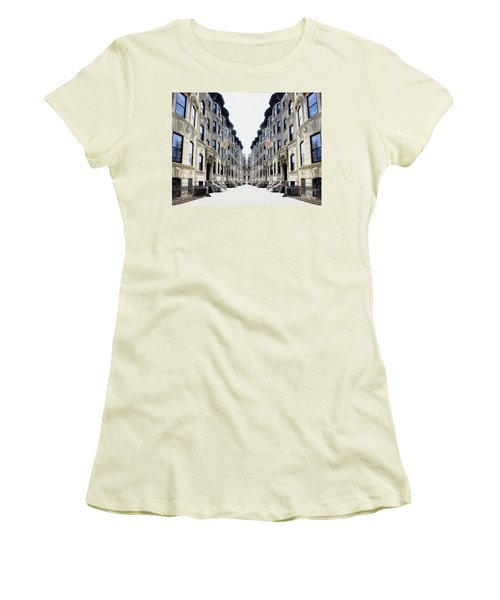 Reflections Of My Childhood Home Women's T-Shirt (Athletic Fit)
