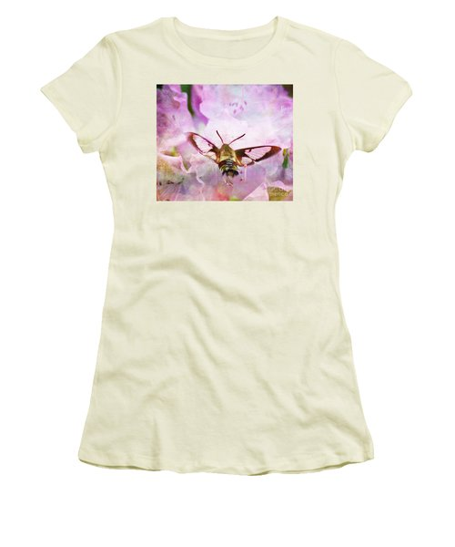 Rhododendron Dreams Women's T-Shirt (Athletic Fit)