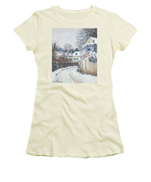 Road Louveciennes Women's T-Shirt (Athletic Fit)
