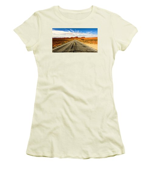 Road To Navajo Women's T-Shirt (Athletic Fit)