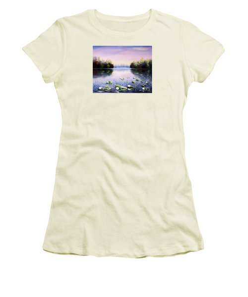 Romantic Lake Women's T-Shirt (Athletic Fit)