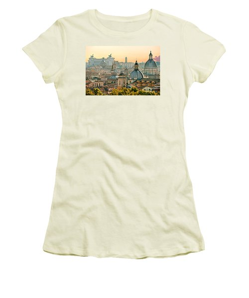 Rome - Italy Women's T-Shirt (Junior Cut) by Luciano Mortula