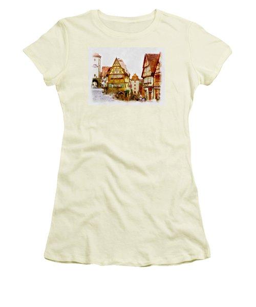 Rothenburg Women's T-Shirt (Athletic Fit)