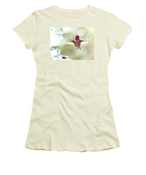 Rufous Hummingbird Women's T-Shirt (Athletic Fit)