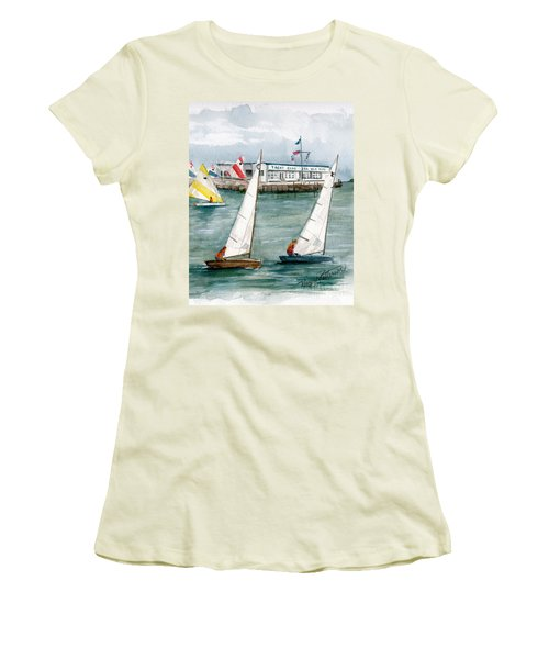 Sailing Class  Women's T-Shirt (Athletic Fit)