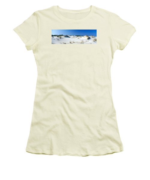 Sand Dunes In A Desert, St. George Women's T-Shirt (Athletic Fit)