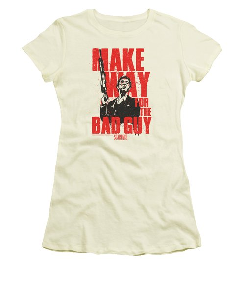 Scarface - Make Way Women's T-Shirt (Athletic Fit)