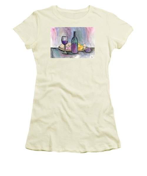 Scene From An Italian Restaurant Women's T-Shirt (Athletic Fit)