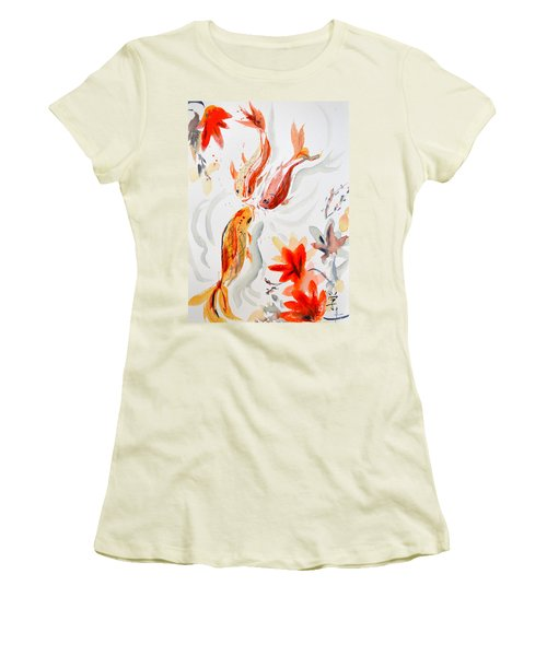 School Women's T-Shirt (Junior Cut) by Beverley Harper Tinsley