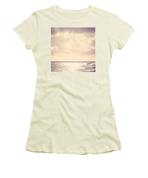 Sea Sparkle Women's T-Shirt (Athletic Fit)