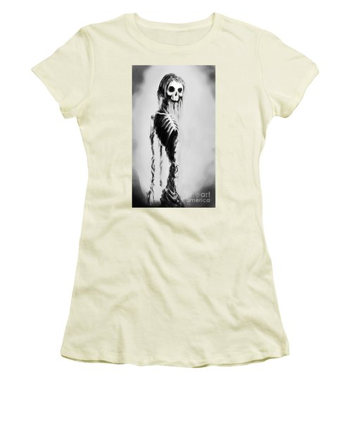 Sexy Bones Women's T-Shirt (Junior Cut) by Tbone Oliver