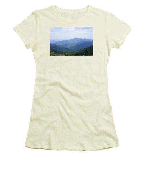 Shenandoah View Women's T-Shirt (Athletic Fit)