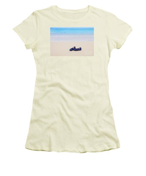 Shoes In Paradise Women's T-Shirt (Athletic Fit)