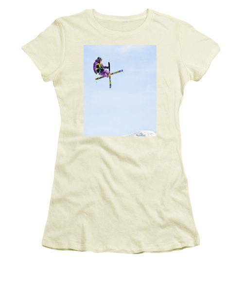 Ski X Women's T-Shirt (Athletic Fit)
