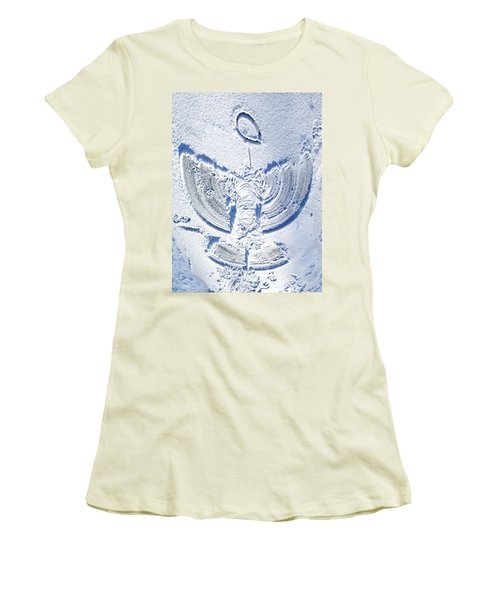 Snow Angel Women's T-Shirt (Athletic Fit)