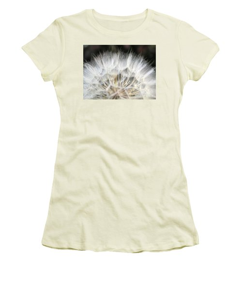 Women's T-Shirt (Athletic Fit) featuring the photograph Softness Of The World by Ausra Huntington nee Paulauskaite
