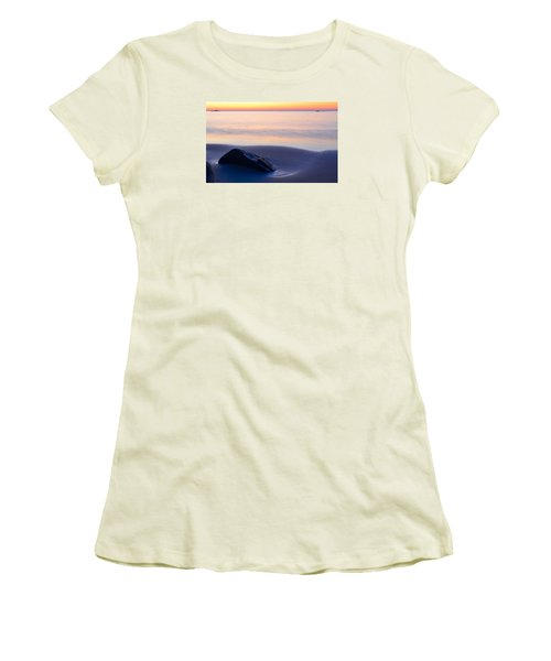 Solitude Singing Beach Women's T-Shirt (Athletic Fit)