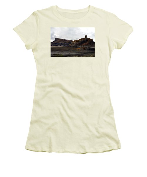 Source Of The Mud Flood Women's T-Shirt (Athletic Fit)