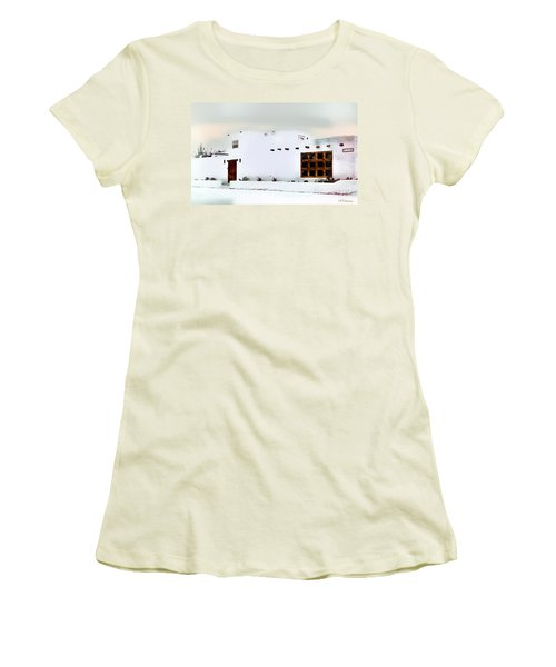 Southwestern Pueblo  Women's T-Shirt (Junior Cut) by Barbara Chichester