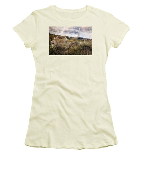 Spirit Of The Past Women's T-Shirt (Athletic Fit)